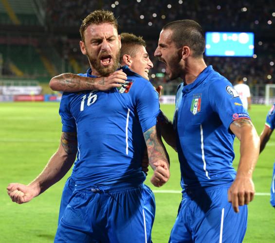 Italy Bulgaria Euro Soccer