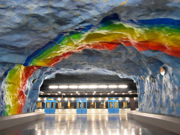 Stockholm - Tunnelbana - Stadion