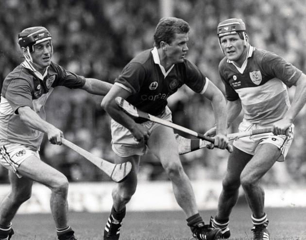 Brendan Birmingham (L), Pat Hartnett (C) and Joachim Kelly (R) 1984