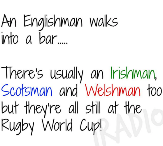 Old Rugby Player Jokes: That Irish Rugby Joke Doing The Rounds Was Too Much For
