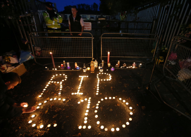 14/10/2015. Travellers Halting sites Vigils