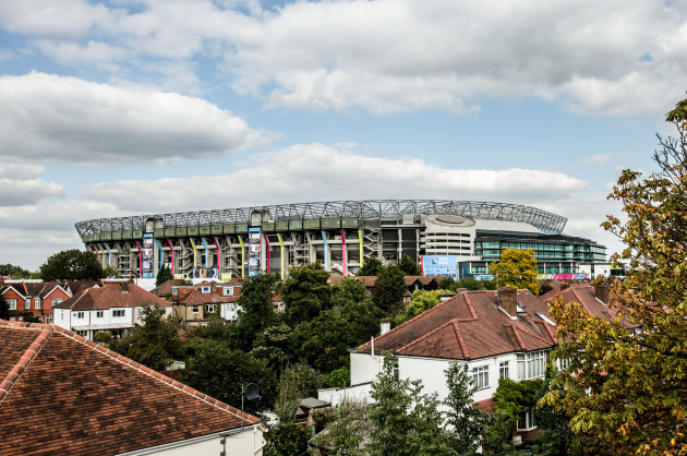 A view of Twickenham Stadium