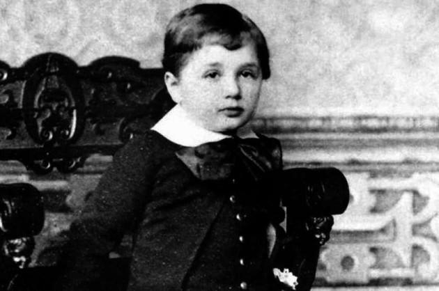 albert einsteins childhood nickname was the dopey one