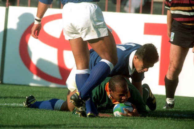 Rugby Union World Cup 1995 -S.A v Samoa