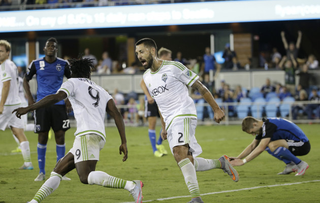 MLS Sounders Earthquakes Soccer
