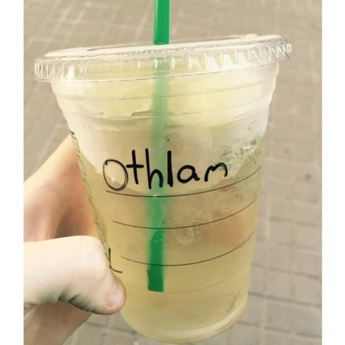 @Starbucks did start their attempt at Odhran o so well...