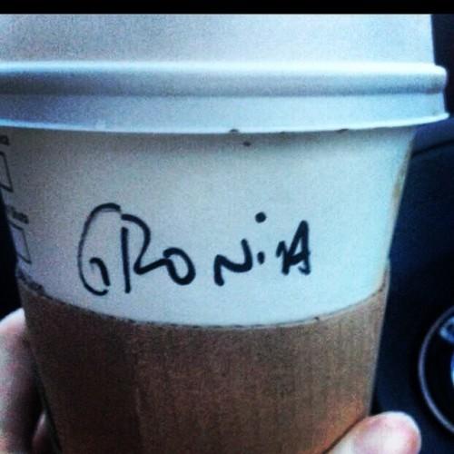Don't welcome Monday with a groan, Grainne! #grainne #irishnames #starbucks #starbucksfail #irish
