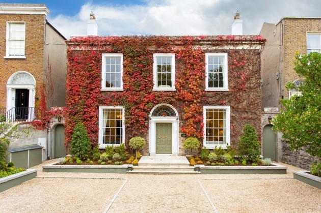 This georgian house in ballsbridge is a catch for Georgian style homes for sale