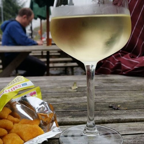 #wine #scampifries