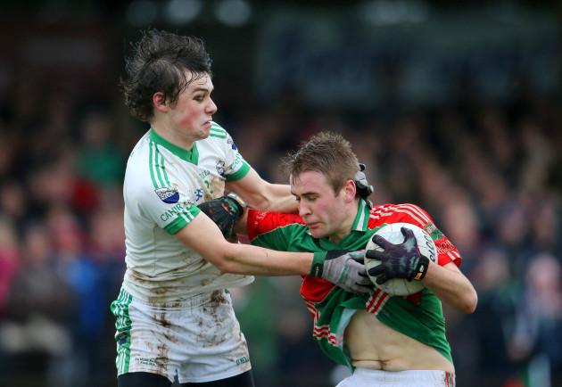 Mikey O'Connor tackles John McGrath