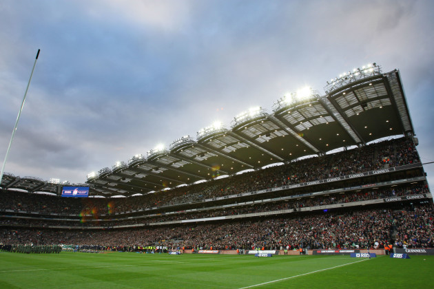 General view of the Hogan Stand