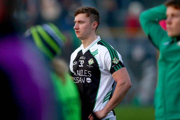 James O'Donoghue dejected