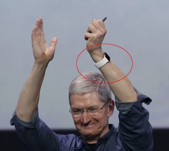 Tim Cook has his very own style of Apple Watch that no-one ...