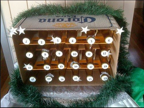 10 ways to diy your own booze filled advent calendar the daily edge 10 or look if youre feeling really lazy solutioingenieria Choice Image
