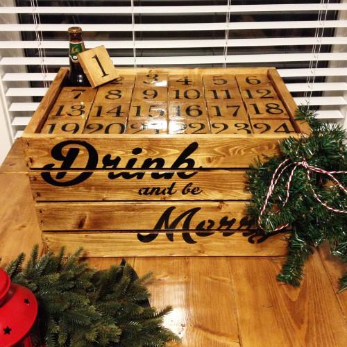 Beer Advent Calendar Diy : Ways to diy your own booze filled advent calendar · the