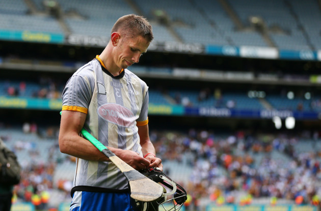 A dejected Maurice Shanahan