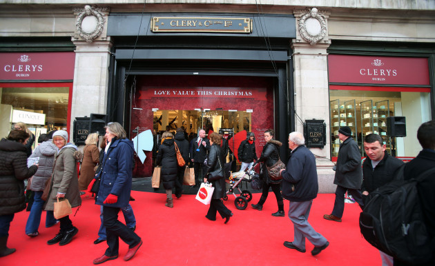 Clerys reopens - Dublin