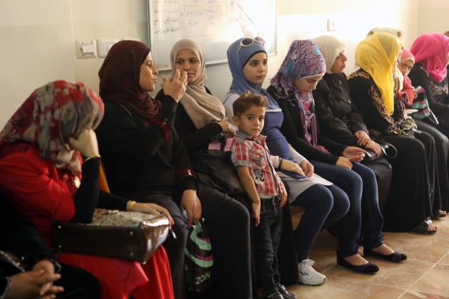 Clinic at Deir Alla