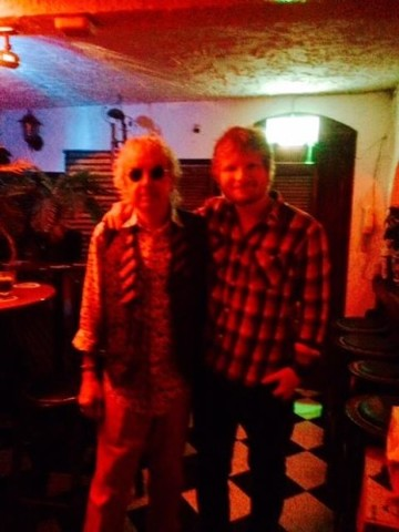 Great to welcome Ed Sheeran to the Hacienda last