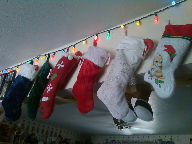 The stockings are done :)