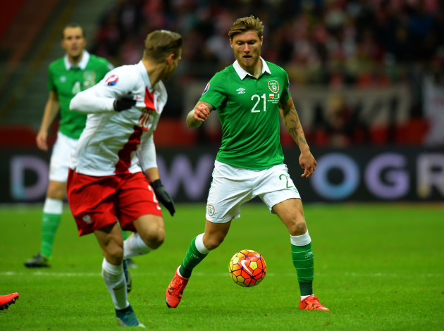 Soccer - UEFA European Championship Qualifying - Group D - Poland v Republic of Ireland - National Stadium