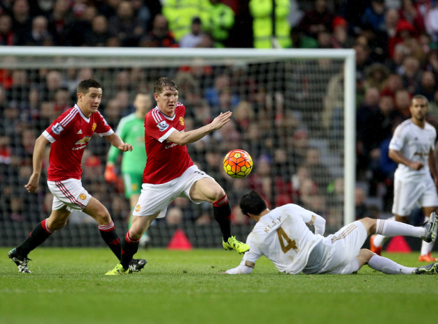 Manchester United v Swansea City - Barclays Premier League - Old Trafford