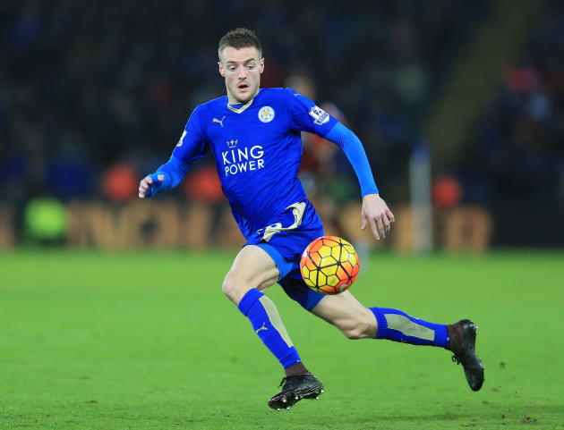 Jamie Vardy File Photo