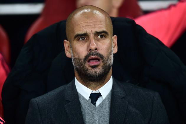 Soccer - Pep Guardiola File Photo