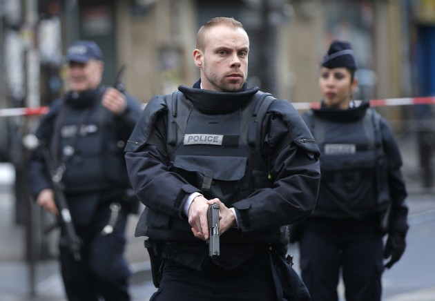 France Police Station Attack