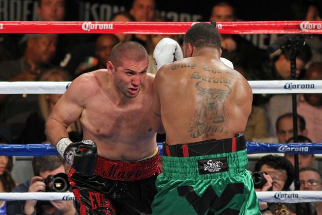 Abdusalamov Pettaway Boxing