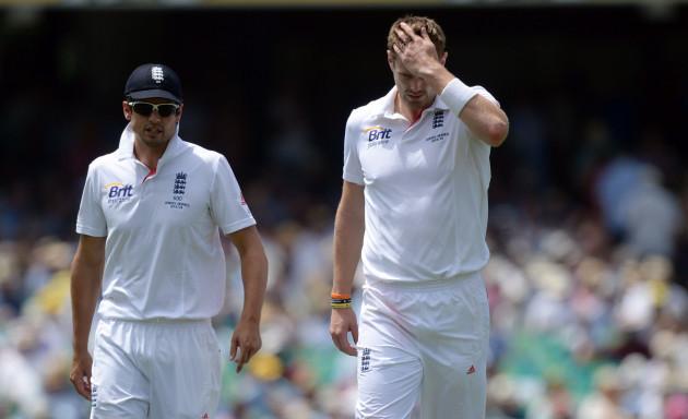 Cricket - The Ashes 2013-14 - Fifth Test - Australia v England - Day One - Sydney Cricket Ground