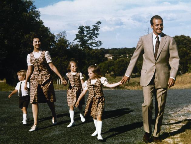 Prince Juan Carlos De Bourbon