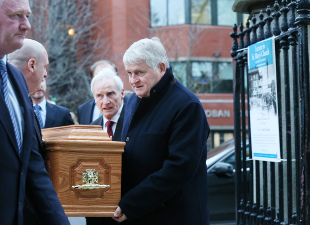 16/1/2016.Business man Denis O Brien carries the c