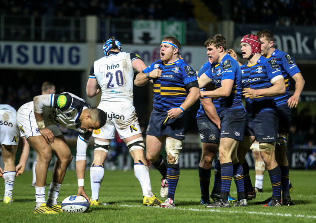 Leinster's Sean Cronin scores a try