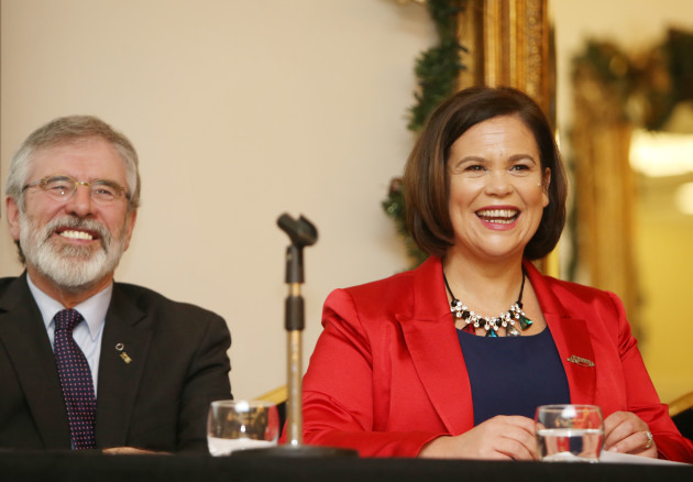 15/01/2016. Sinn Fein Dublin Central Election Laun