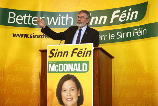 15/1/2016. Sinn Fein General Election Campaigns Starts