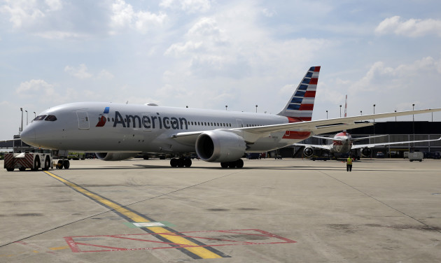 American Airlines Dreamliner Chicago