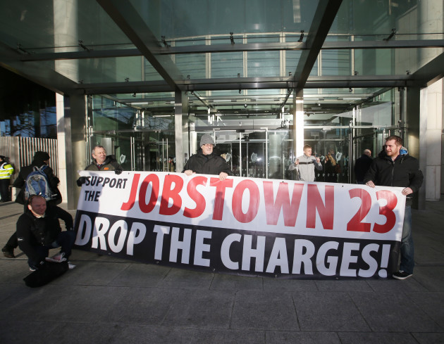 22/01/2016. Jobstown protesters - Criminal Courts