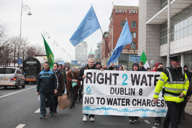 23/01/16.National Day of Protest against water cha
