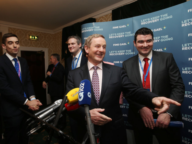 22/01/2016. 78th Fine Gael Ard Fheis. Pictured An