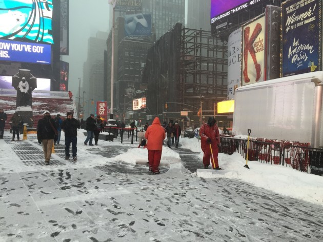 Winter weather Jan 23rd 2016