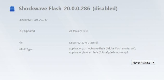 Shockwave flash firefox