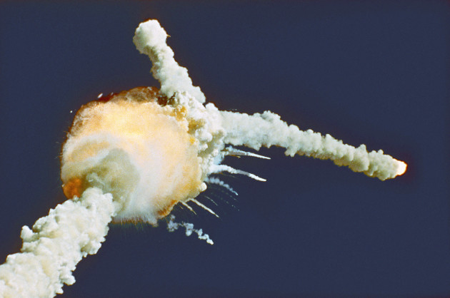 It's 30 years since a space shuttle exploded on live tv ...