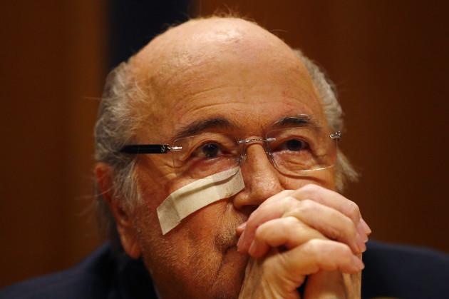 Switzerland Soccer FIFA Blatter