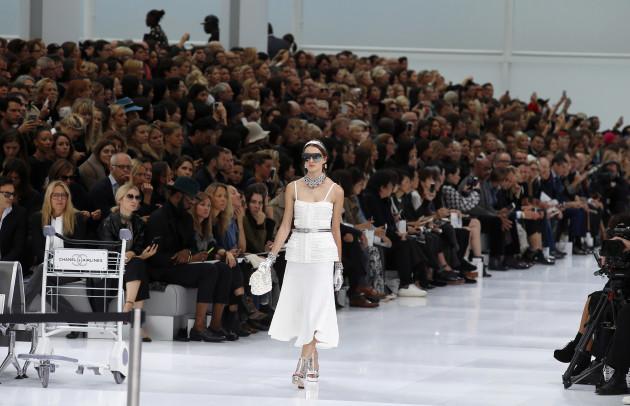 Paris Fashion Week - Chanel Catwalk