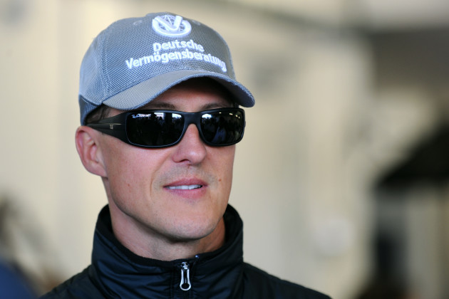 Michael Schumacher File photo