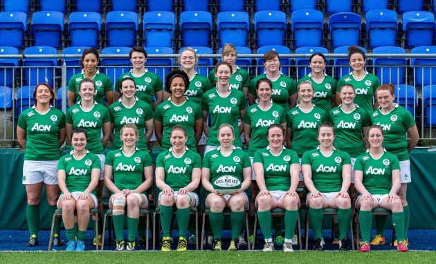 The Ireland Women's team
