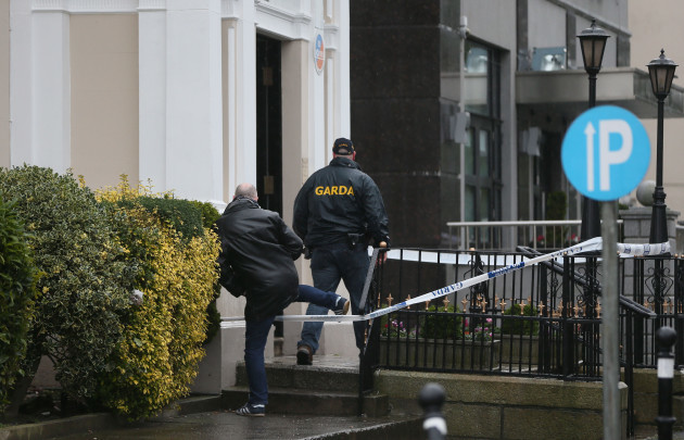 Shooting at Dublin hotel