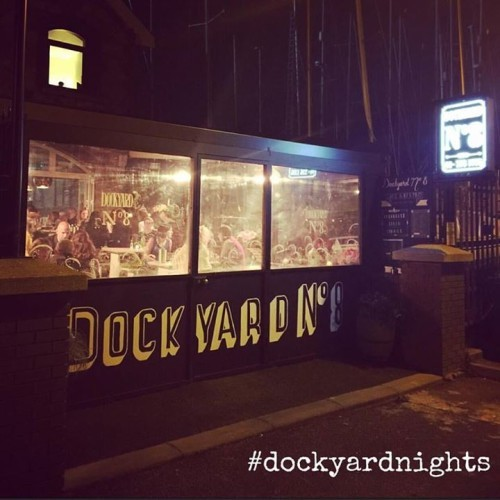 Dockyard No.8 is open tonight!! Large wings and