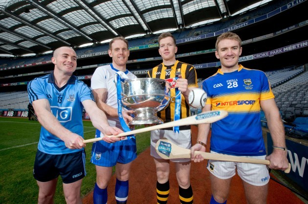 David O'Callaghan, Kevin Moran, Walter Walsh and Noel McGrath
